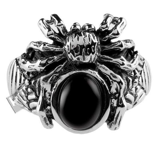 pierścień BLACK SPIDER