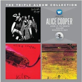 ALICE COOPER: THE TRIPLE ALBUM COLLECTION (3CD)