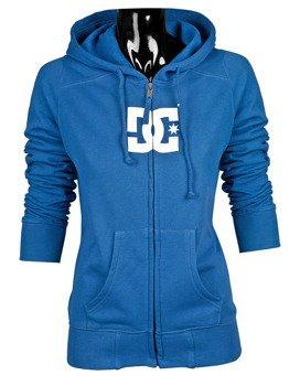 Bluza damska na zamek -DC (STAR ZIP) (TRU BLUE)