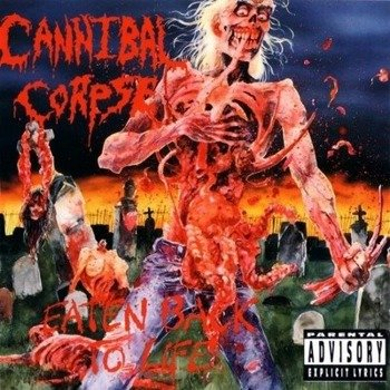 CANNIBAL CORPSE: EATEN BACK TO LIFE (LP VINYL)