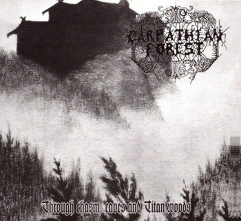 CARPATHIAN FOREST: TROUGH CHASM, CAVES & TITAN WOODS (LP VINYL)