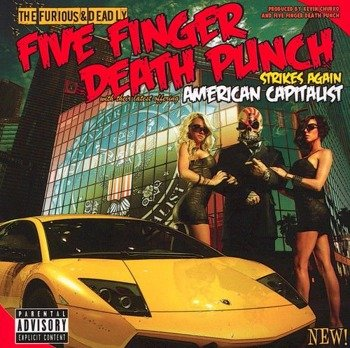 FIVE FINGER DEATH PUNCH: AMERICAN CAPITALIST (CD)