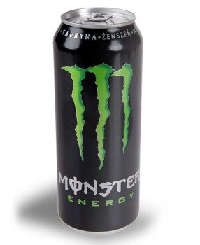 GRATIS: napój 0,5l + naklejka MONSTER ENERGY