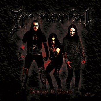 IMMORTAL: DAMNED IN BLACK (CD)
