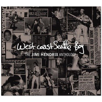 JIMI HENDRIX EXPERIENCE: ANTHOLOGY WEST COAST SEATLLE BOY (CD+DVD)