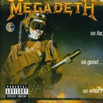 MEGADETH: SO FAR, SO GOOD, SO WHAT (CD)