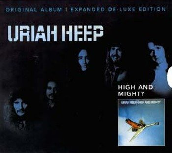 URIAH HEEP: HIGH AND MIGHTY (CD) REMASTER