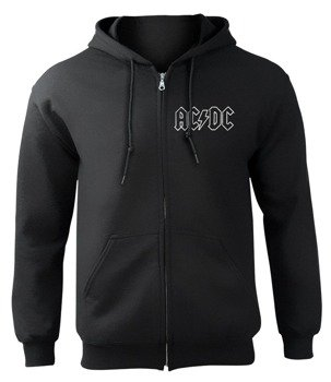 bluza AC/DC - FOR THOSE ABOUT TO ROCK, rozpinana z kapturem