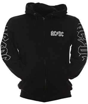 bluza AC/DC - HIGH VOLTAGE rozpinana, z kapturem