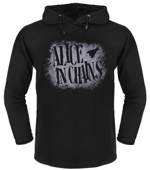 bluza ALICE IN CHAINS czarna, z kapturem
