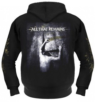 bluza ALL THAT REMAINS rozpinana, z kapturem