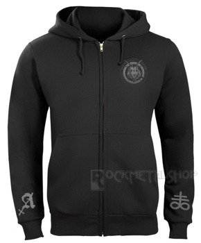 bluza AMENOMEN - CHURCH OF SATAN rozpinana, z kapturem (OMEN053CR)