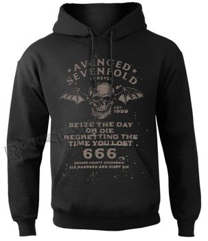 bluza AVENGED SEVENFOLD - SEIZE THE DAY, kangurka z kapturem