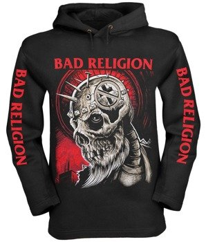 bluza BAD RELIGION, czarna z kapturem
