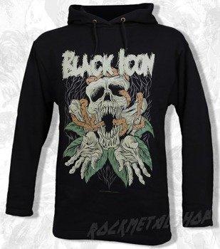 bluza BLACK ICON - EMPTINESS czarna z kapturem (BICON013)