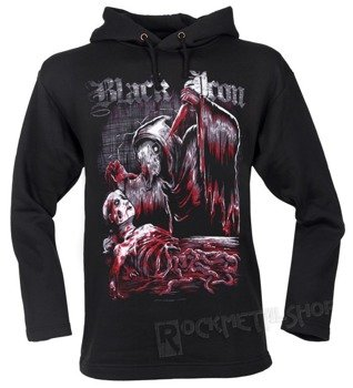 bluza BLACK ICON - SACRIFICE czarna z kapturem