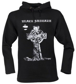 bluza BLACK SABBATH -  HEADLESS CROSS czarna, z kapturem