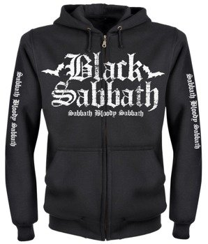 bluza BLACK SABBATH - SABBATH BLOODY SABBATH rozpinana, z kapturem
