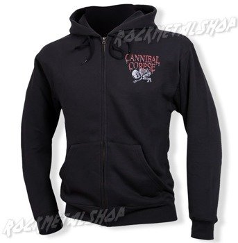 bluza CANNIBAL CORPSE - EATEN BACK TO LIFE,rozpinana z kapturem