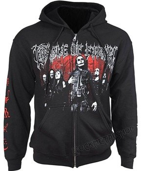 bluza CRADLE OF FILTH - GOETIC JUSTICE, rozpinana z kapturem