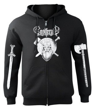 bluza ENSIFERUM - BLOOD IS THE PRICE, rozpinana z kapturem