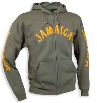 bluza JAMAICA rozpinana, z kapturem
