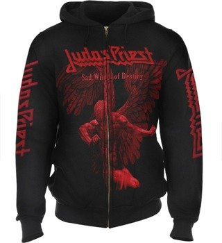 bluza JUDAS PRIEST - SAD WINGS OF DESTINY rozpinana, z kapturem