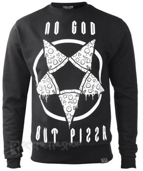 bluza KILL STAR - PIZZAGRAM, bez kaptura