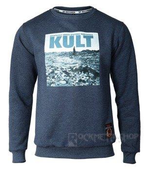 bluza KULT - OSTATECZNY KRACH... navy, bez kaptura