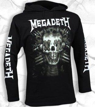 bluza MEGADETH czarna, z kapturem