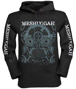 bluza MESHUGGAH, czarna z kapturem