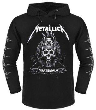 bluza METALLICA - GUATEMALA czarna, z kapturem