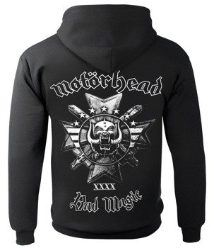 bluza MOTORHEAD - BAD MAGIC, rozpinana z kapturem