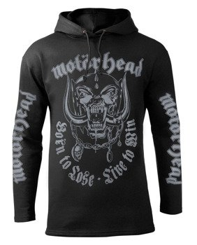 bluza MOTORHEAD - BORN TO LOSE LIVE TO WIN czarna z kapturem