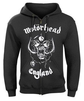 bluza MOTORHEAD - ENGLAND, rozpinana z kapturem
