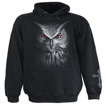 bluza NIGHT HUNTER czarna, z kapturem