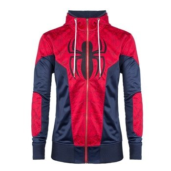 bluza SPIDERMAN, rozpinana z kapturem