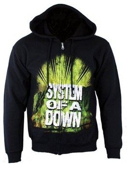 bluza SYSTEM OF A DOWN - SUN, rozpinana z kapturem