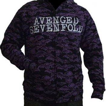 bluza rozpinana z kapturem AVENGED SEVENFOLD - DEATHBAT