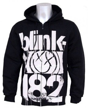 bluza rozpinana z kapturem BLINK 182 - THREE BARS
