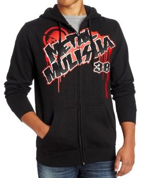 bluza z kapturem METAL MULISHA - DEEGAN GEAR czarna
