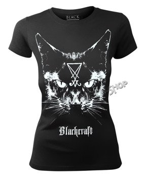 bluzka damska BLACK CRAFT - LUCIFER THE CAT