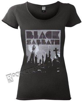 bluzka damska BLACK SABBATH - VICTORY ciemnoszara