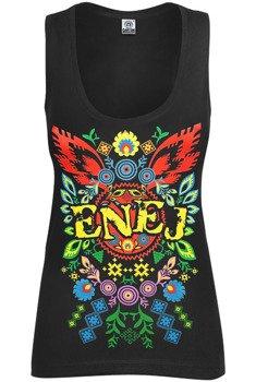 bluzka damska ENEJ - FOLK  na ramiączkach