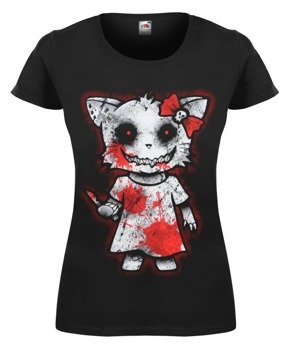 bluzka damska HELLO KITTY CUTTHROAT