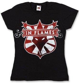 bluzka damska IN FLAMES - LOGO