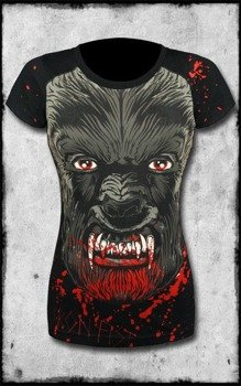 bluzka damska IRON FIST - WOLF BEATER (BLACK)