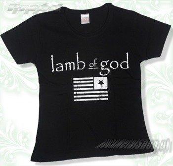 bluzka damska LAMB OF GOD - LOGO