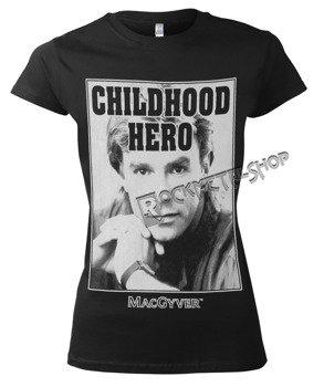 bluzka damska MACGYVER - CHILDHOOD HERO