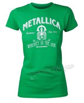 bluzka damska METALLICA - GREEN WHISKEY IN THE JAR